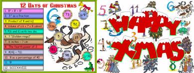 22 Twelve Days of Christmas (d2) Days 4 - 6