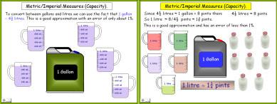 Metric 8 (Metric/Imperial Conversions: Capacity)