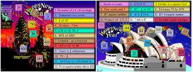27  New Year Maths Mania (c)