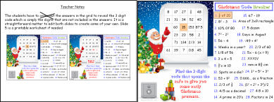 math worksheet : powerpoint maths presentation christmas code breaker : Maths Code Breaker Worksheets