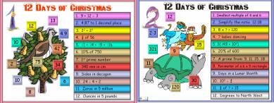 17 Twelve Days of Christmas (c1) Days 1 - 3