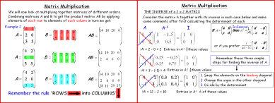 Matrices 2 (Multiplication)