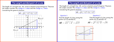 Line Lengths and Midpoints