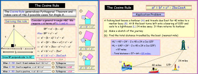 Trigonometry 1: The Cosine Rule