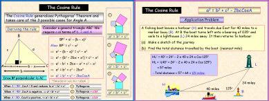 Trigonometry 1: The Cosine Rule