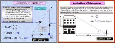 Trigonometry 1: (Right-angled Triangle)
