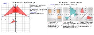 Transformations 7 (Combinations)