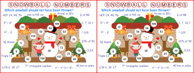 009b Snowball Numbers