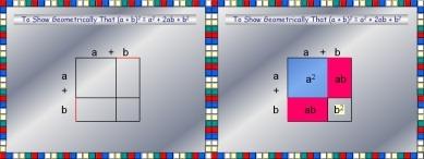 Geometric Demo (a + b) Squared