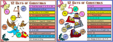 10 Twelve Days of Christmas (a2) Days 4 - 6