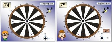03 Dartboard 1 Singles