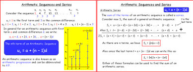 Sequences and Series 2 (Arithmetic)