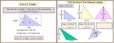 Mensuration 5 (Triangle: Area)