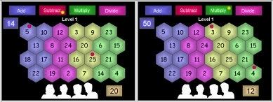 19 Hex Grid Level 1