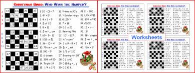 008a Christmas Bingo