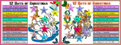 23 Twelve Days of Christmas (d3) Days 7 - 9