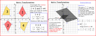 Transformations 8 (Matrices 1)