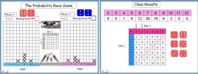 Probability (c) Probability Race Game