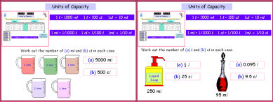 Metric 5 (Capacity)