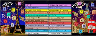 28 New Year Maths Mania (d)