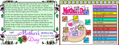 43 Mothers Day Number Mayhem (c)
