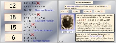 Perfect Numbers and Mersenne Primes