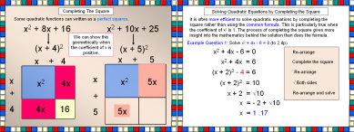 Quadratic Equations: Completing the Square