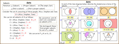 Set notation venn diagram examples selol ink sets and venn diagrams maths powerpoint presentation ccuart Image collections
