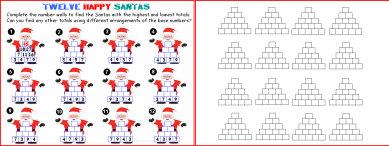 009a Twelve Happy Santas