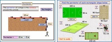 Mensuration 1 (Rectangle: Perimeter plus compound)