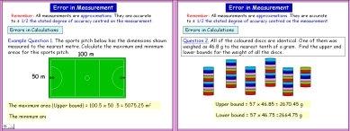 Errors 2 (Calculations)