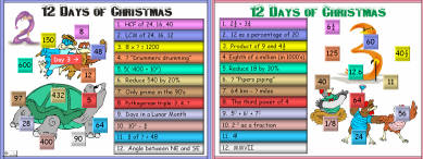 21 Twelve Days of Christmas (d1) Days 1 - 3