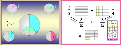 Fractions 6 (Addition and Subtraction)
