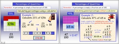 Percentages 4 (Calculating)