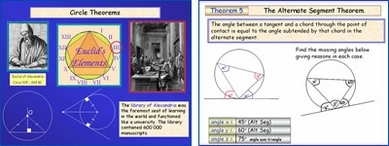 Circle Theorems (Including many proofs)