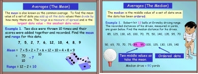 Averages 1 (Mean, Mode and Median)