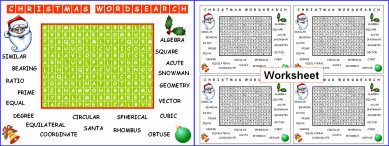 008d Christmas Wordsearch