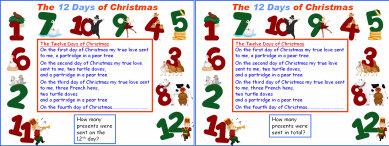 009d Twelve Days of Christmas