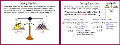 Simple Equations 1