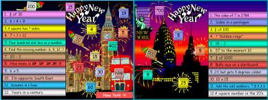 25 New Year Maths Mania (a)