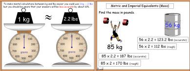 Metric 7 (Metric/Imperial Conversions: Mass)