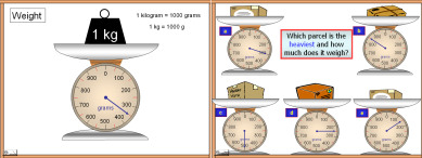 Measures PowerPoint Presentation on weight
