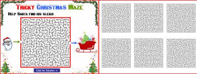 009c Tricky Christmas Maze