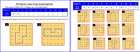 Pinboard/Grid(Area and Perimeter)