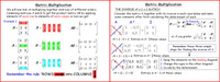Matrices 2 (Multiplication)